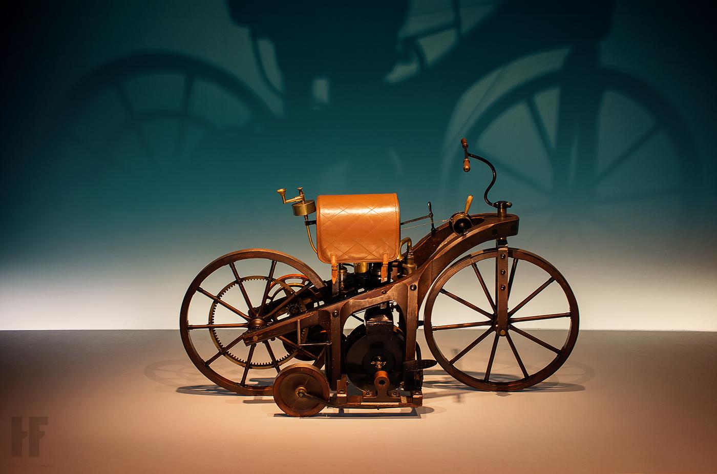 hermann|fotografie Daimler Reitwagen 1885